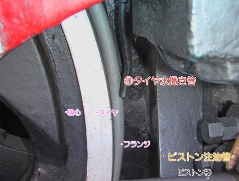 タイヤ水撒き装置