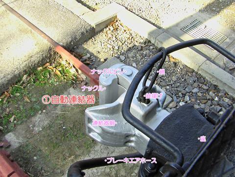 自動連結器(上から)