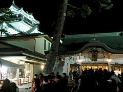 初詣で:龍城神社(2015年1月1日)