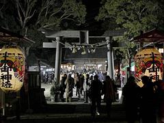 初詣で:菅生神社(2015年1月1日)