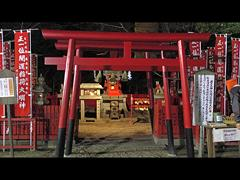 初詣で:菅生神社・稲荷大明神(2015年1月1日)