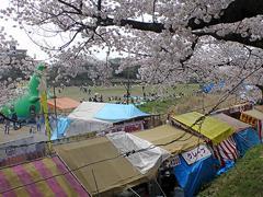 乙川の屋台