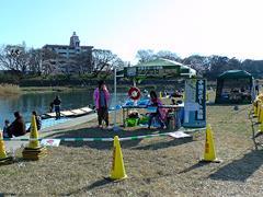 岡崎城下舟遊び(手漕ぎボート体験)