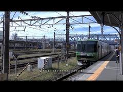 3300系実車映像:発車画像